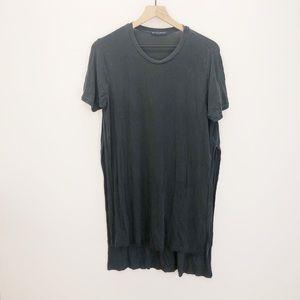 Brandy Melville T-Shirt Dress High Slit